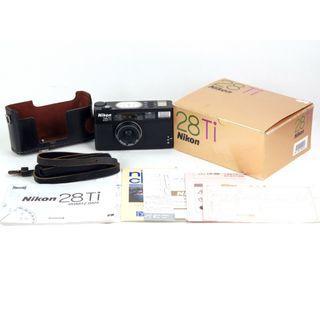 【庫存新同品】Nikon/尼康 28Ti 黑色版 帶對號包裝 送皮套#jp22387