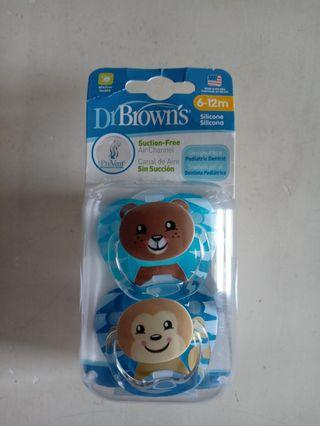 Pacifier Dr. Brown 6-12m