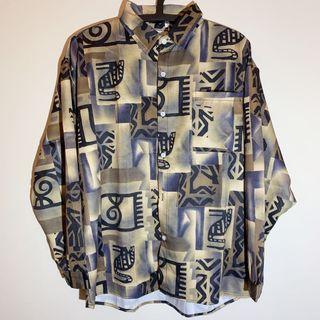 Joan《復古襯衫》懷舊設計款  古著 港風 vintage 長袖襯衫