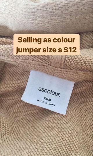 As colour hoodie