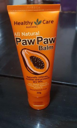 Paw paw balm all natural