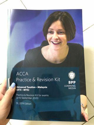 ACCA Advanced Taxation Practice & Revision Kit