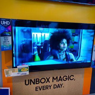 "FHD TV Samsung Smart 43"" Nu7090 Bisa Kredit"