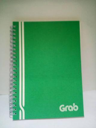 NOTE BOOK - LIMITED EDITION FROM GRAB
