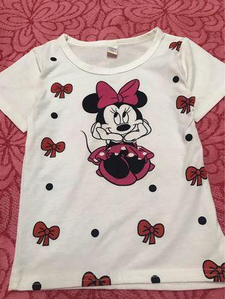 Disney Top Minnie Mouse 1-3y