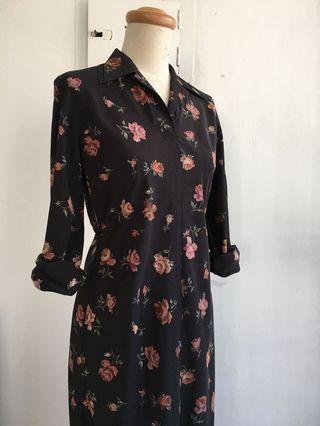 日本製 come ca du mode 設計款限量洋裝