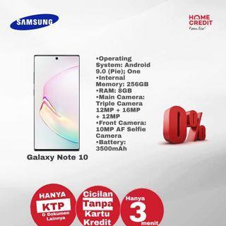 Samsung galaxy Note 10/ Bisa Kredit Bunga 0%