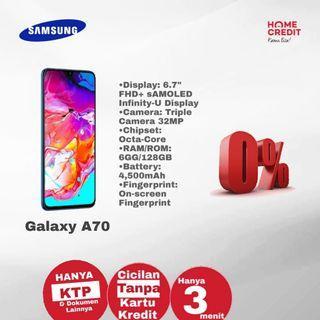 Samsung A70 Bisa Kredit Bunga 0%