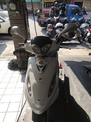 光陽KYMCO 奔騰 125  2oo2年 方便好騎 代步車