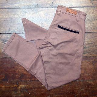 ZARA Man Chino Nude Brown Size 32