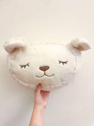 可愛綿羊抱枕 內有毯子