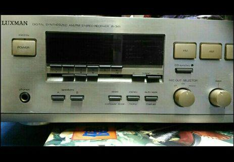 LUXMAN R 341 收音擴大機