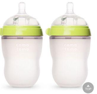 Como tomo寶寶矽膠奶瓶-2入裝