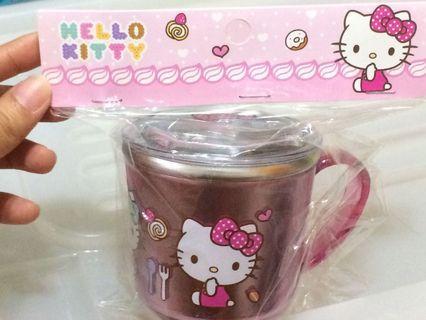 韓國帶回 不鏽鋼喝水杯 附蓋 冰雪/波力polo/kitty