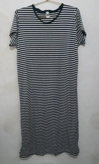 Dress casual / terusan Stripes Douche