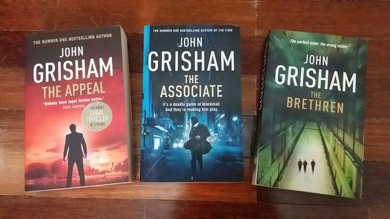 Adult Book - John Grisham Legal Thriller Novel