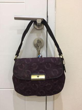 Shoulder bag coach authentic