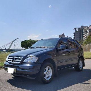 BENZ ML320 7人座 休旅車 中古車 二手車 代步車 零頭款 全額貸 車況好 私下分期