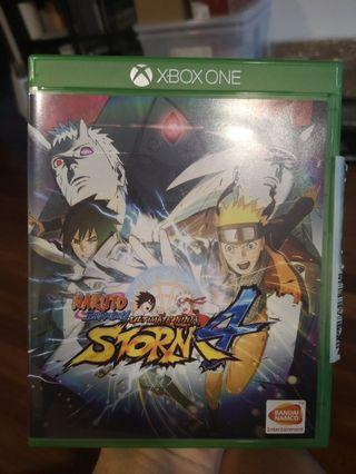 Xbox one game Naruto shippuden ultimate ninja storm 4