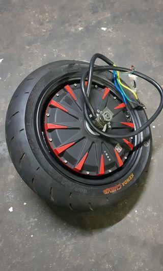 3000w motor w/ tire