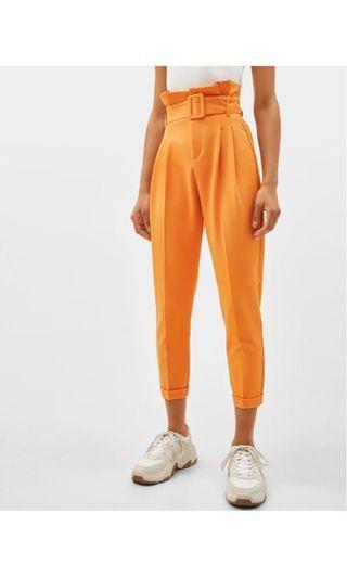Bershka Paperbag Trousers