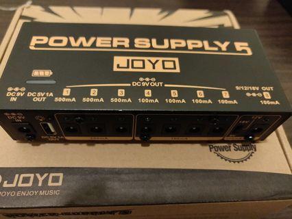 JOYO JP 05 Pedal Power Supply