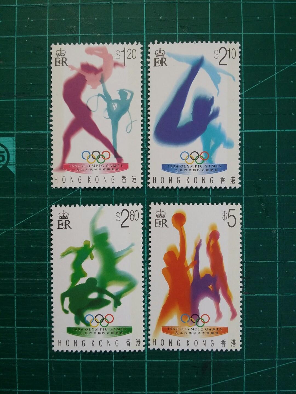 [已售兩份]1996 奧林匹克運動會 套摺