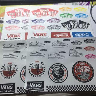 Vans貼紙