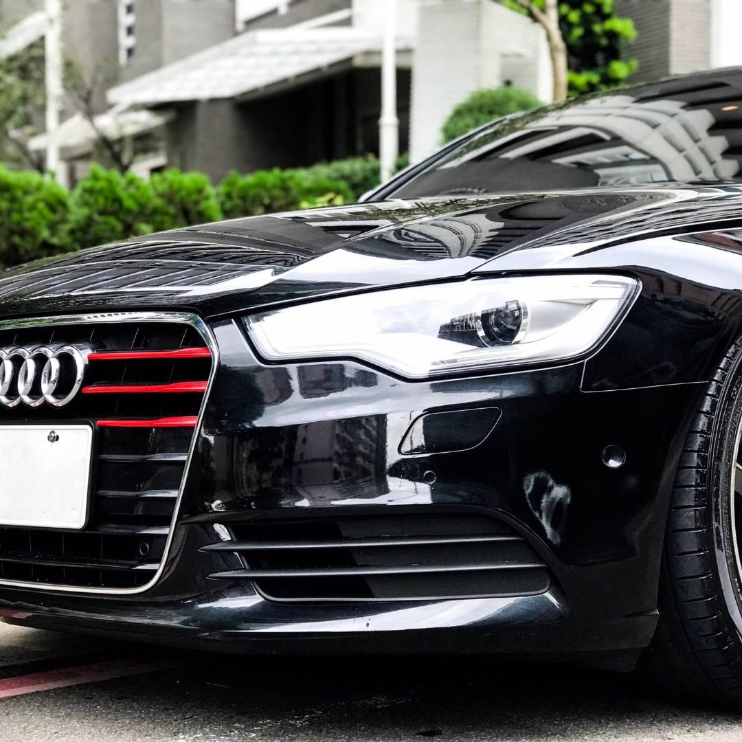 2013年 Audi A6 3.0 TFSI Quattro 全車原版件 僅跑6萬 已認證 實車實價 可保固