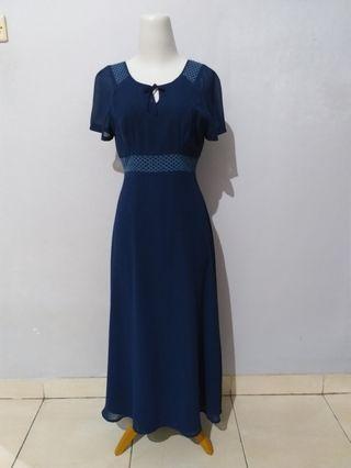 Long dress - blue