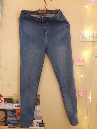 Turun harga!! High waist Jeans