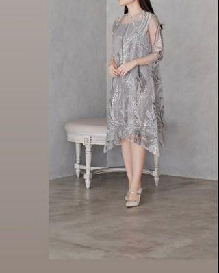 For Rent : Rene dress in grey