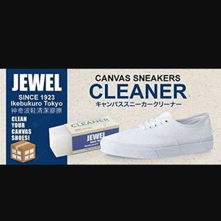 Jewels Canvas Sneaker 👟 Cleaner