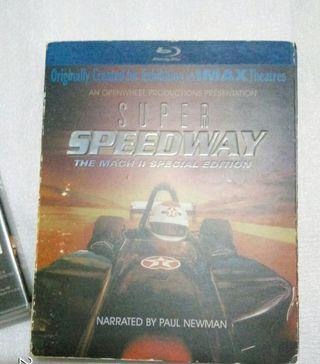 Blu-ray Super Speedway special edition demo DTSHD