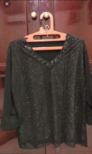 [freeongkir] blouse hitam