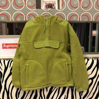 Supreme polartec hoodie 帽T 刷毛