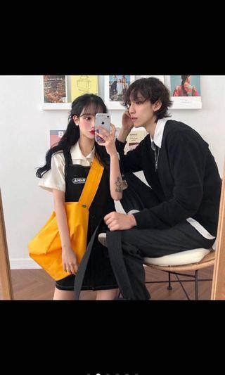 杏色襯衫短袖