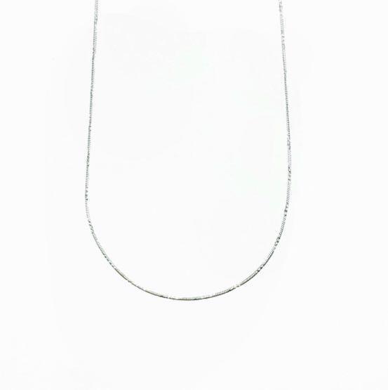 925純銀 基本款 素鍊 項鍊