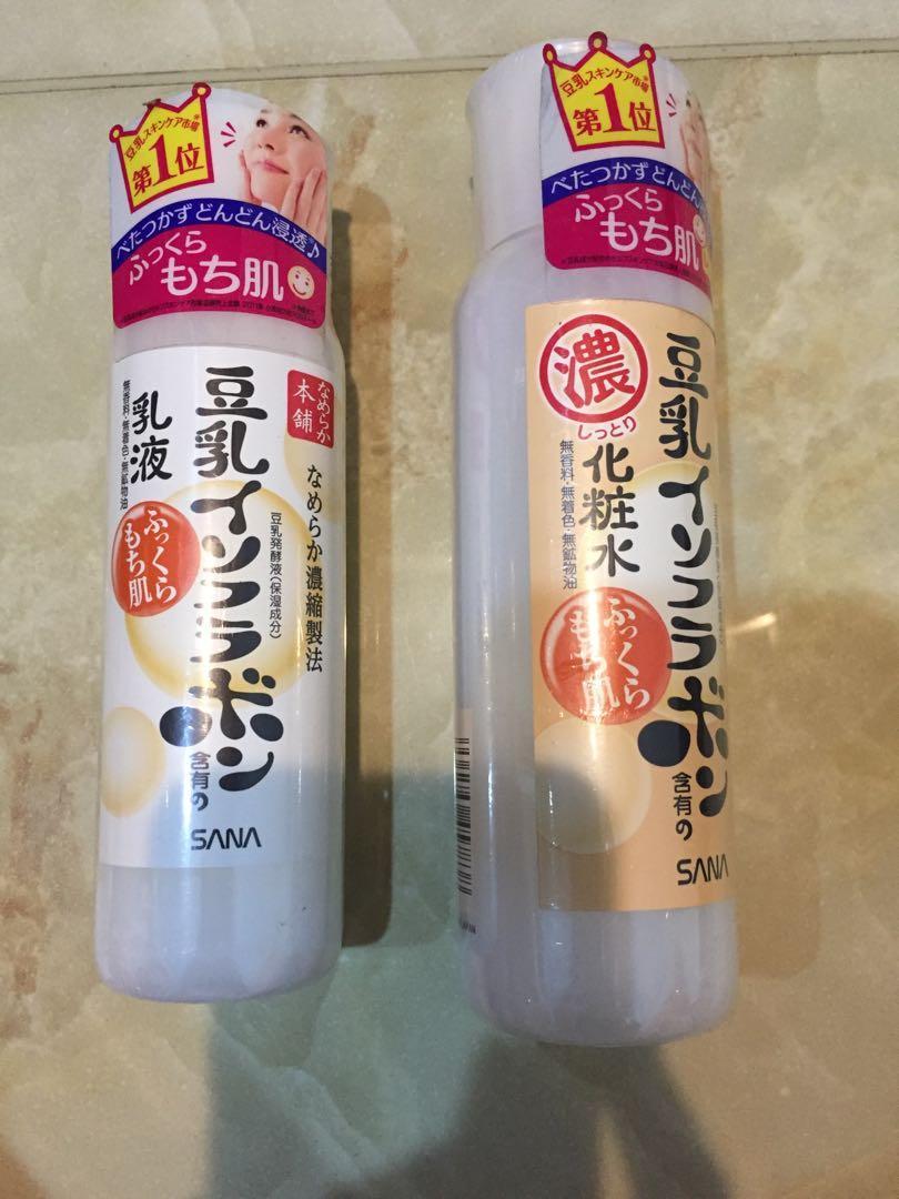 化妝水乳液 豆乳 日本