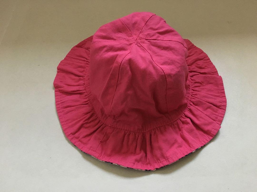 馬莎 Marks & Spencer 女裝小童雙面布質漁夫帽(太陽帽 hat 適合3-6歲 原價$79)