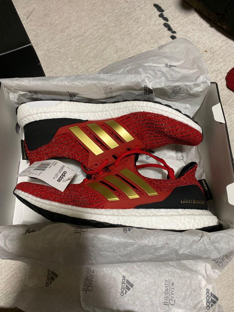 adidas Ultra Boost 4.0 Game of Thrones House Lannister Women Shoes EE3710 Red </div>             </div>   </div>       </div>     <div class=