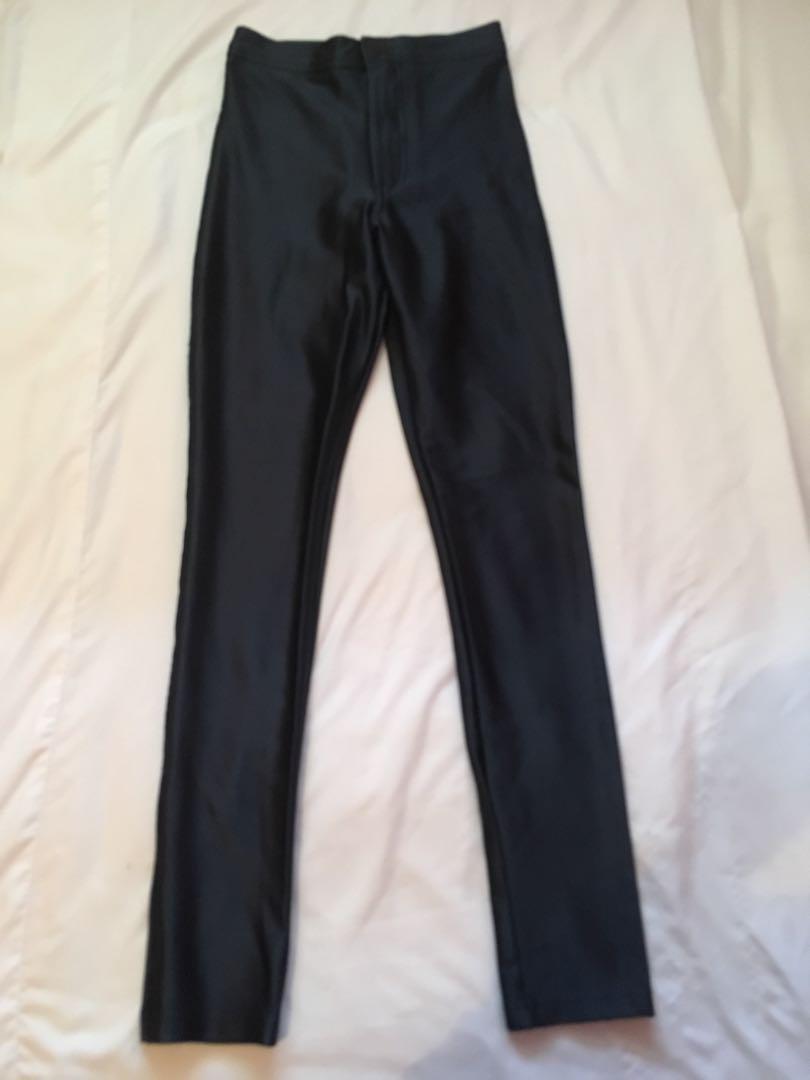 American Apparel Disco Pants (Navy Blue; Size XXS)