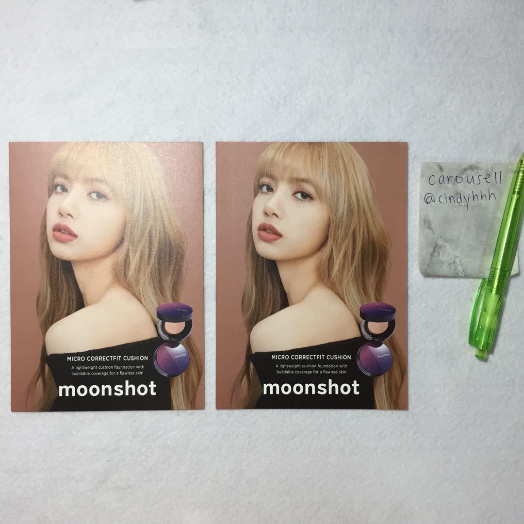 [Arrival Proof #7] Lisa Moonshot Postcard Blackpink