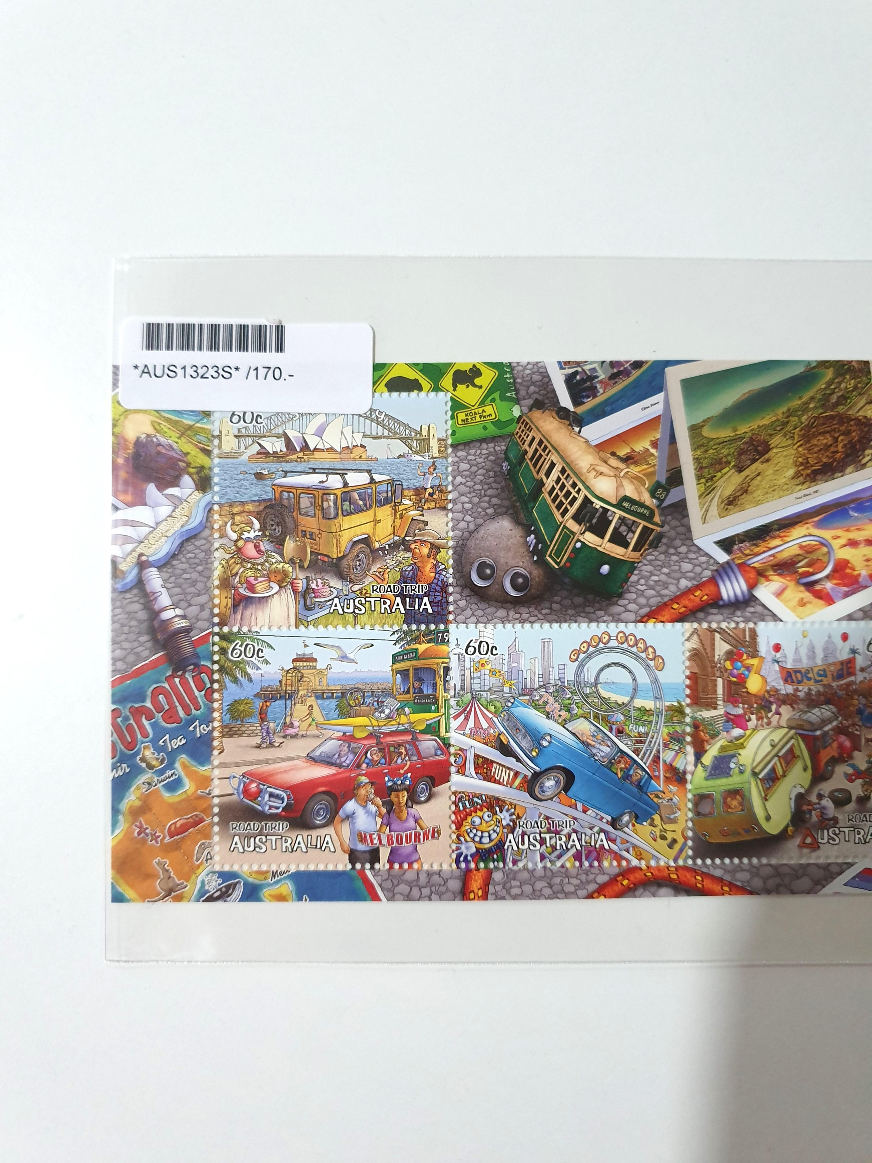 Australian Road Trip Stamp Collection 2013