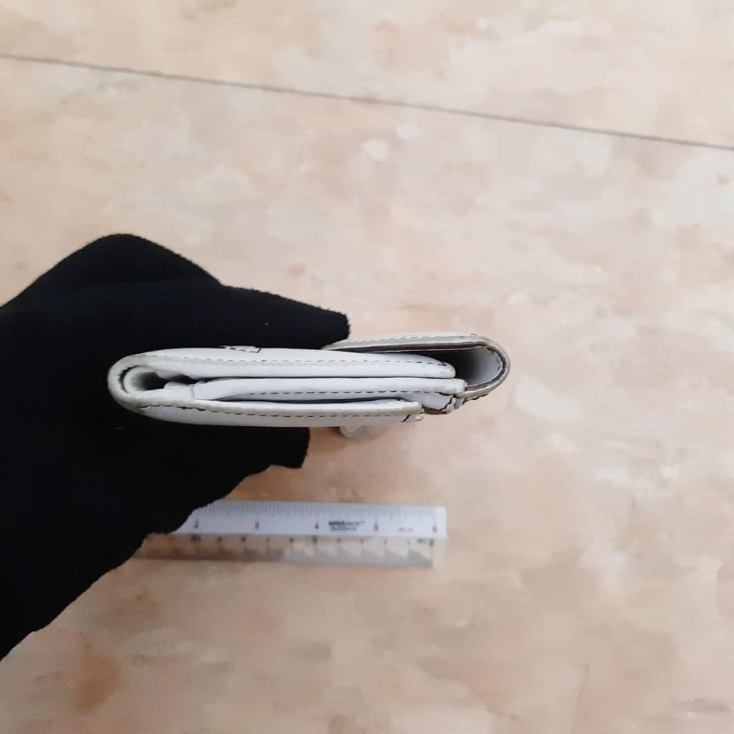 AUTHENTIC DIOR SADDLE LEATHER LONG WALLET - SILVER HARDWARE - CLEAN SLOTS & POCKETS , LEATHER CORNERS CAN CLEAN / TOUCH UP AT BAG SPA- (DIOR SADDLE LONG WALLETS NOW RETAIL AROUND RM 4000+) -