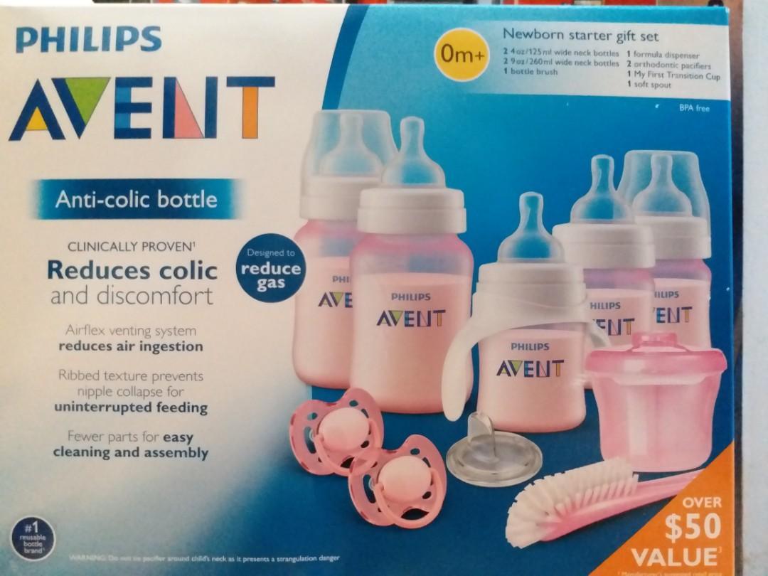 AVENT Anti-colic newborn starter gift set