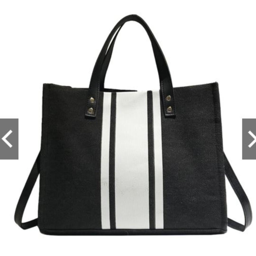 Brand New Women Ladies Canvas Handbag / Sling Bag For Sales!