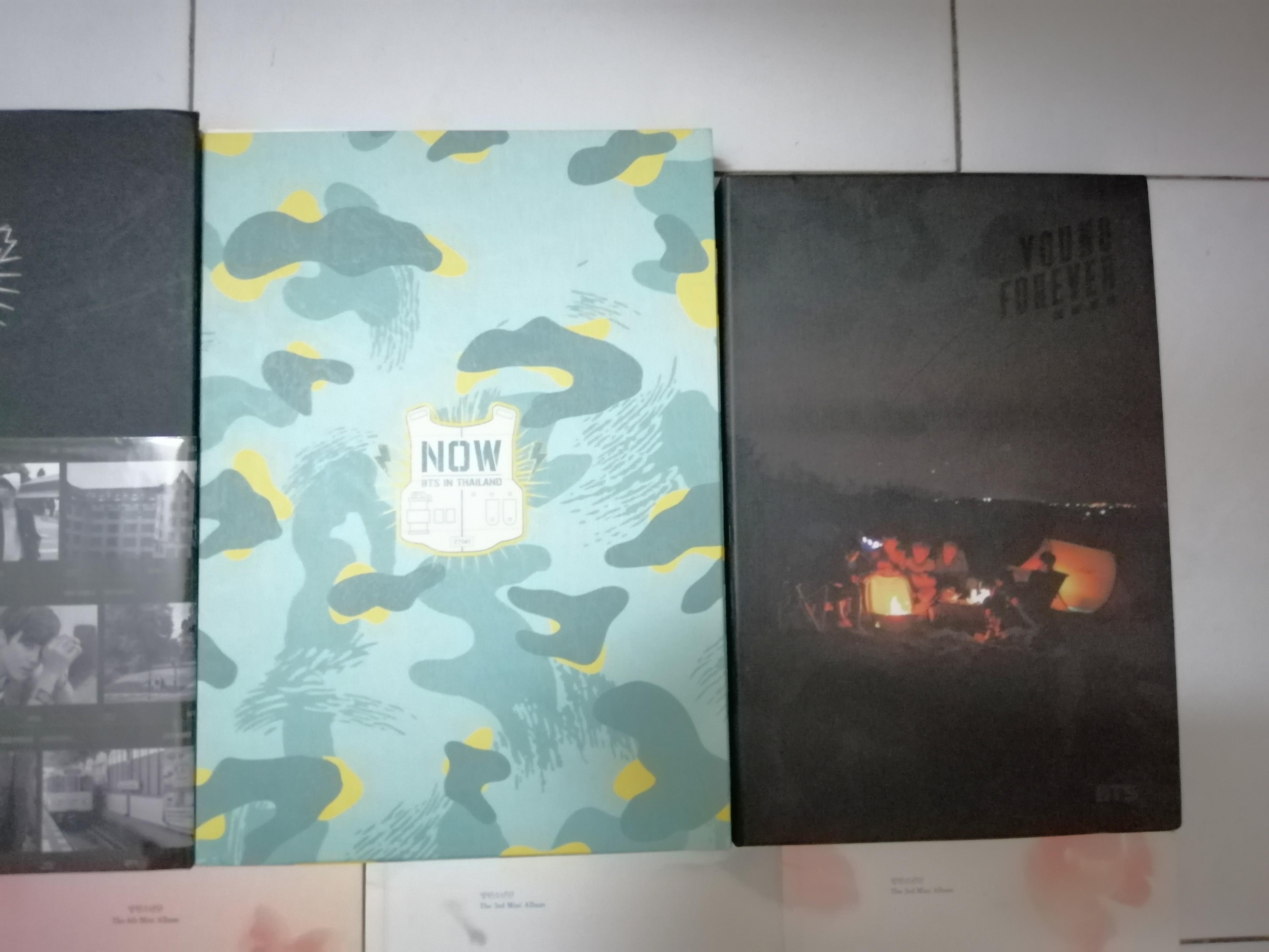 BTS Albums, DVDs and Photobooks
