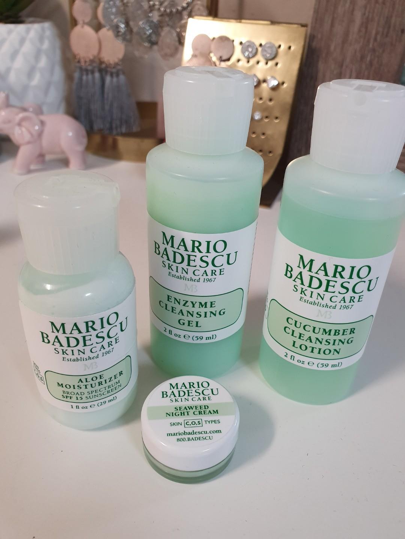 Combination/Oily Cleanser Moisturiser Night Cream Set|Mario Badescu