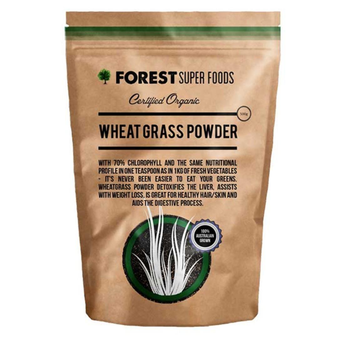 Forest Super Food- 澳洲有機小麥粉 Wheat Grass Powder (500g) (HKD150)